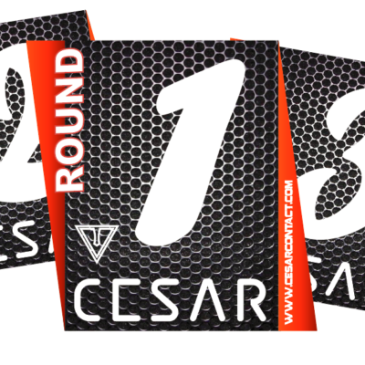 carteles de ring cesar contact