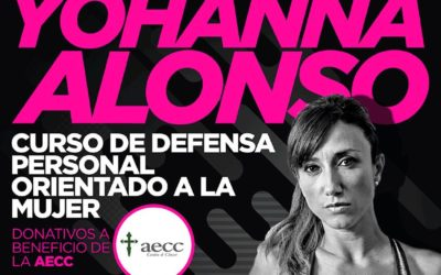 Curso de defensa personal con Johanna Alonso
