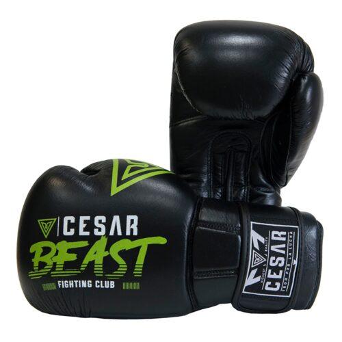 guantes de boxeo cesar beast negros