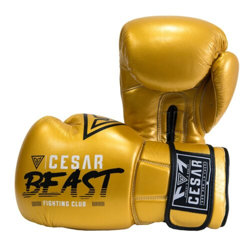 guantes de boxeo cesar beast oro
