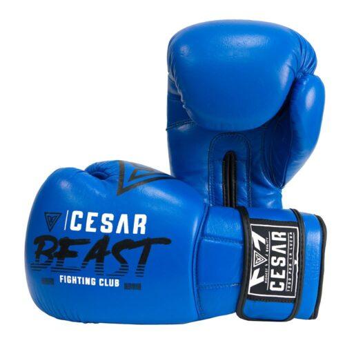 guantes de boxeo cesar beast azules