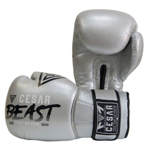 guantes de boxeo cesar beast plata