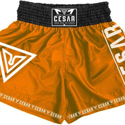 shorts de k1 cesar naranjas