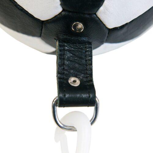 detalle como son los agarres de la pera loca punching ball pera oval cesar contact