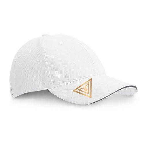 gorra cesar contact blanca