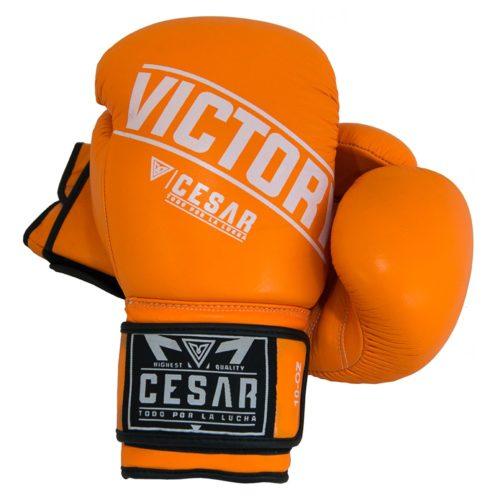 guante de boxeo victory naranja