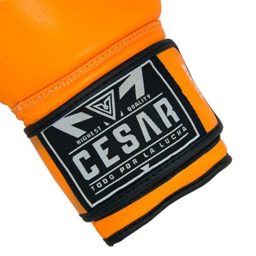 guante de boxeo victory naranja cierre
